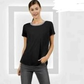 Лёгкая вискозная блуза футболка М Esmara evro 42+6