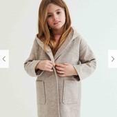 Пальто водонепроницаемое Reserved для девочки 134-140 см