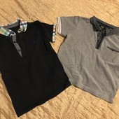 Дві футболки одним лотом на 3-4 роки