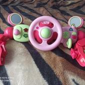 Развивающая игрушка от ELC руль управления на коляску