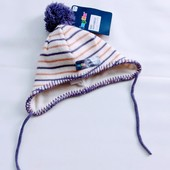 Красивая, вязанная шапочка шапочка Lupilu ( Германия) Размер 62/68 ( рост) 2-6 мес