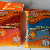 2 упаковки качественных губок для посуды Sanday. Много лотов от 10 грн