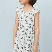 Платье бабочки h&m на 9-10 лет