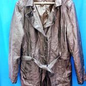 Шикарная куртка под пояс. Р.евро 46 Бренд Sure. спасибо Сток