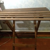 Отличный раскладной деревянный столик✓Размер 80/55✓Много лотов,собирайте✓