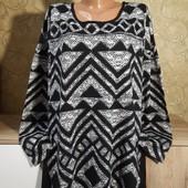 Собираем лоты!!! Женский джемпер-блуза на пышную красу, размер 18/46