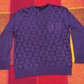 КФ 13 Мужской тоненький свитерок с добавлением вискозы