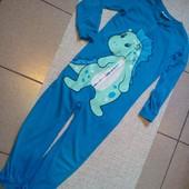 Супер Киругуми(пижамка) Мягкая ,приятная к телу ,трикотажная х/б.рр116-128б.у.есть замеры.без дефек
