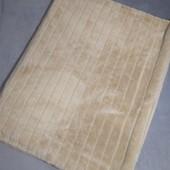 Теплый двойной мягусенький плед ,размер 168 х200 см.