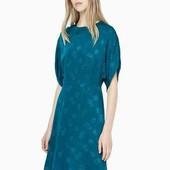 Mango! Красивое изумрудное платье. С биркой