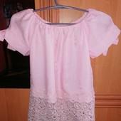 Красивая блуза, р. 146-152.