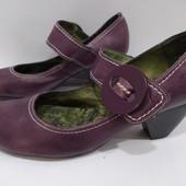 = Мегаудобные Кожаные туфли Wonders Испания р-38 (уп-скидка)