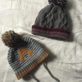 Лот шапочек и шарф