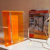 Акриловая фоторамка Melinera оранж.