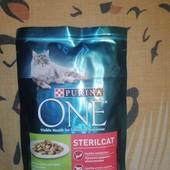 Влажный корм для стерилизованных котов Purina One Sterilcat