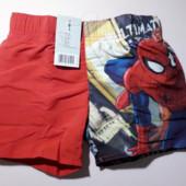 Шорты,шорты для пляжа/плавки,disney,человек-паук,размер на выбор.