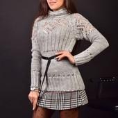 Стильный женский свитер, демисезон. Очень красивый!