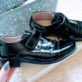 Туфли для мальчика. Размер 31р - 19см стелька