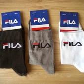 Топ продаж! Хлопковые носки Fila.3 пары в лоте!