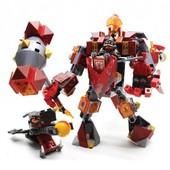 308 деталей! Конструктор sy572 Nexo Knights Боевой робот Мэйси нексо найтс