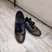 Приглашаю на шоппинг! Кожаные фирменные туфли.