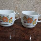 Фірмова порцеляна Німеччини дві кавові чашки