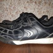 Кожаные кросовки от clarks