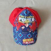 кепка бейсболка для мальчика fireman sam р. 3+