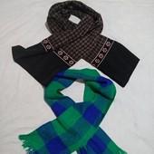 2 Стильных шарфа в лоте✓Почти новые✓Много лотов,собирайте✓