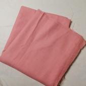 ЛоВиЛоТы! Отрез розовой ткани 240 Х 145