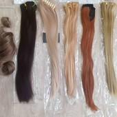 Трессы одни на выбор искусственные волосы хвост шиньон 1 шт на выбор