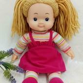 Кукла мягконабивная Simba 37 см с цветными волосами