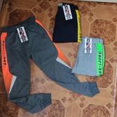 Трикотажні спортивні штани для хлопчиків від фірми Active Sports. 146-176рр