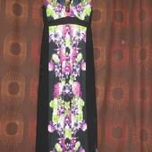Длинное платье в пол р.16