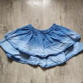 Джинсовая юбка на 5-6 лет