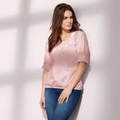 ☘ Чарівна ніжна блуза, 100% бавовна від Tchibo (Німеччина), розміри наші: 46-48 (40/42 євро)