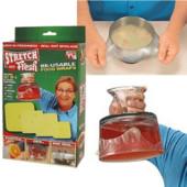 Набір пакувальних стрейчевих кришок-плівок для продуктів Stretch and Fresh