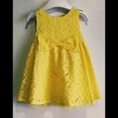 Платье F&F 6-9 месяцев.