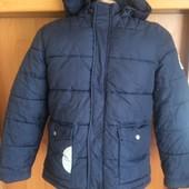 Куртка, холодная весна, внутри флис, p. 10 лет 140 см, Cyrillus. сост. отл