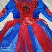 Карнавальное платье паука 4года замеры на фото