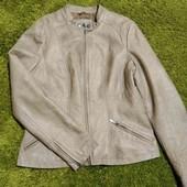 Стильная куртка Wallis из эко кожи, размер 12-14 в идеале
