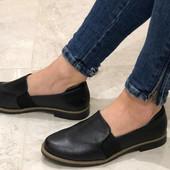 Женские лаковые балетки. туфли с напылением.