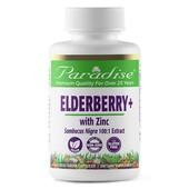 Смесь для иммунитета Бузина +Zn, Paradise Herbs 60 капсул