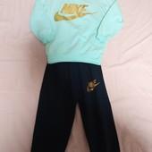 Вау!супер хитовый костюм для модняшки.Nike.р.2-4года.новый.натурал.ткань.есть замеры.унисекс(Турция