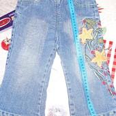 Лот джинсы на флисы+кофта 1-2года смотрите замеры