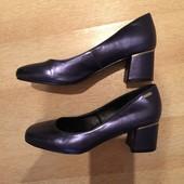 Шикарные Туфельки-лодочки эффектный сине-фиолетовый цвет 38(24,5)