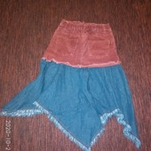 Оригинальная юбочка,7-11 лет
