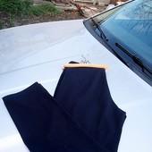 Стоп!!фирменные удобные классические брюки