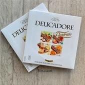 Польша.шоколад Delicadore Quadratto Excellent Baron 200 г