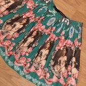 Пышная мини юбка на подкладке